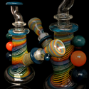 "Picture of 5.5"" Clear Rainbow Rig"